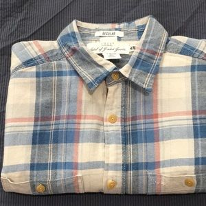 Label of Graded Good(L.O.G.G.) flannel button down